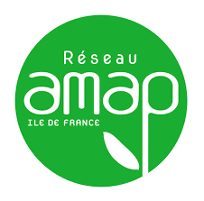 Reseau amap légumes fruits légumes écologique logo
